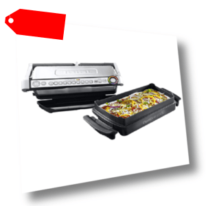 Tefal Kontaktgrill Optigrill plus XL mit Snacking und Baking GC...