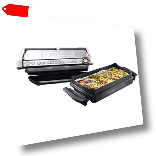 Tefal Kontaktgrill Optigrill plus XL mit Snacking und Baking GC...