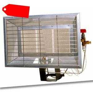 Infrarot Heizstrahler Flaschenstrahler Gas 5200 Watt incl Sicherheitstechnik Gas