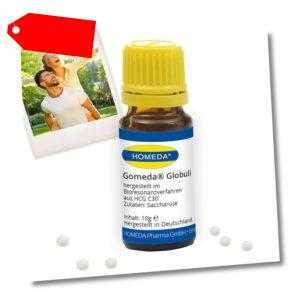 HOMEDA Gomeda® Globuli 10 g inkl. digitales hCG Rezeptbuch (139 EUR / 100 g)