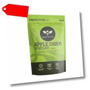 Apfelessig 400mg 180 Kapseln Gewichtsverlust Blutzucker Ergänzung