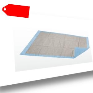 100x Krankenunterlage  Einmalunterlage  Wickelunterlage  40 x 60 cm  6 lagig