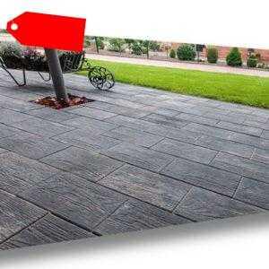 Pflastersteine NATURA (Holzoptik), verschiedene Farben / Fracht ab 50m² 99€