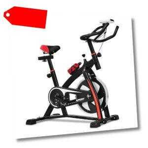 Heimtrainer Fahrrad Trainingsfahrrad 10kg Schwungrad Verstellbarer Fitnessbike