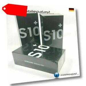 SAMSUNG Galaxy S10+ Plus 128GB Black ohne Branding  versiegelt...