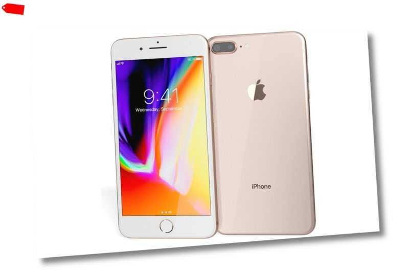 Apple iPhone 8 Plus Smartphone, Gold 64GB (ohne SIM-Lock)