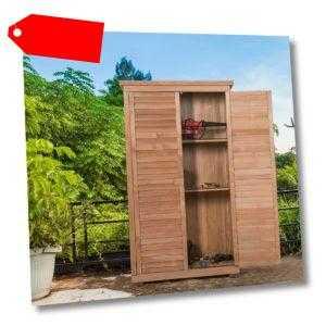 Gartenschrank Gerätehaus Geräteschuppen Holzgerätehaus Gartenhaus Holzschuppen