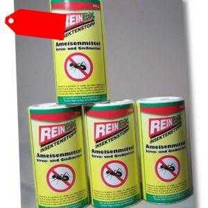 4 x 250g, Ameisen Streumittel Gießmittel, Ameisen Köder, Ameisengift DHL Versand