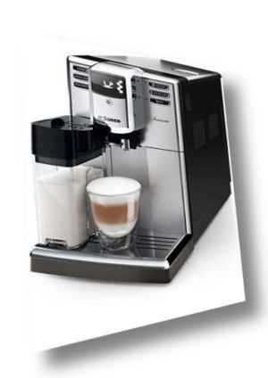 Saeco Incanto HD8917 Edelstahl/Schwarz Kaffeevollautomat