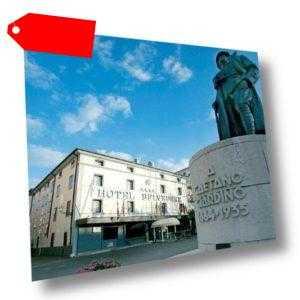 3-4 Tage Kurzurlaub Single + Kind 4* Bonotto Hotel Belvedere Bassano Venetien