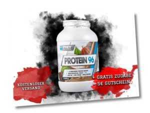 Frey Nutrition Protein 96 Eiweiß 2,3 kg Dose - 2300g Mehrkomponenten Protein