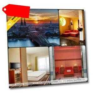 Kurzurlaub Köln 3 Tage 2 Personen 4* H+ Hotel Hotelgutschein Städtereise Urlaub