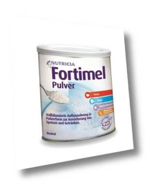 Fortimel Pulver Neutral 335g PZN 09477146 (34,75 EUR/kg)