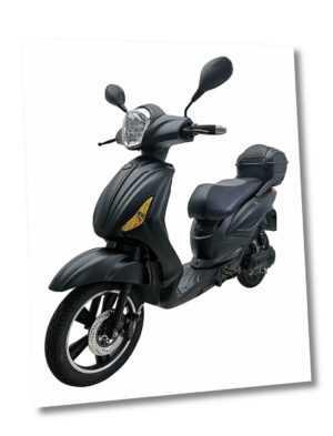 Elektroroller SKY E-Scooter E-Mofa Velo Roller Lithium 25km/h ohne Führerschein