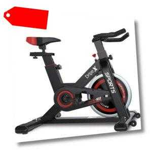 Heimtrainer Ergometer Fitness Fahrrad Indoor Cycling Trimmrad Pulsmesser LCD