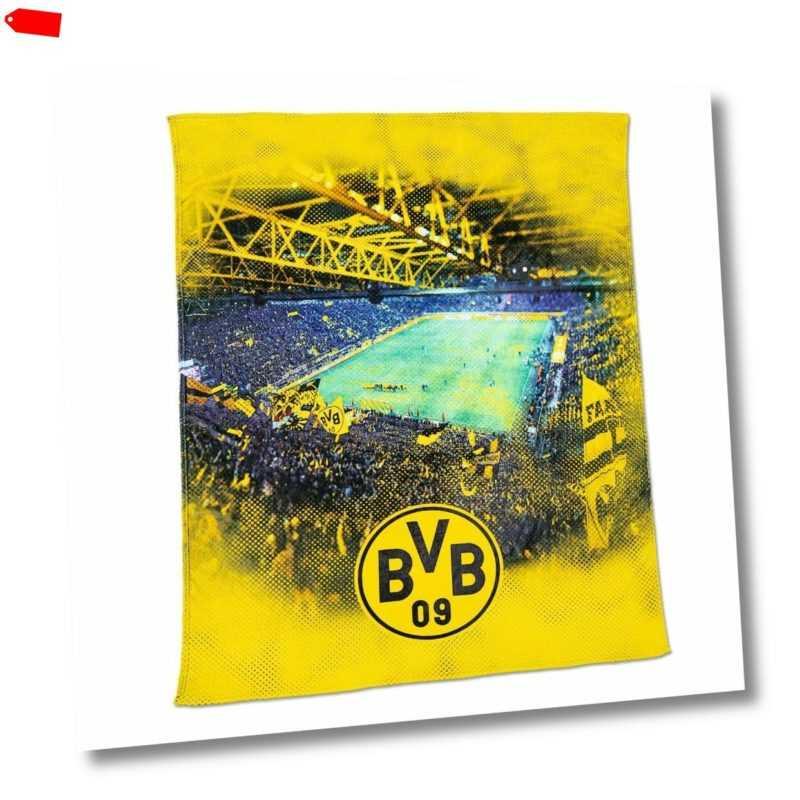 BVB Decke Fleecedecke mit Stadionprint (150x200cm) Borussia