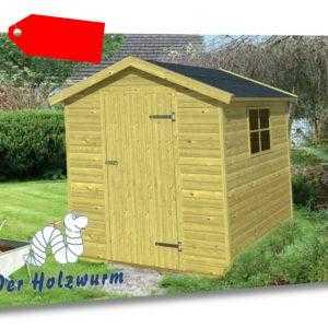 Gartenhaus Boudewijn Blockhaus Gerätehaus Holzhaus Schuppen 180x180 cm 16 mm Neu