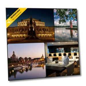 Kurzurlaub Dresden 3 Tage 2+2 Personen 4* Wyndham Garden Hotel Familienurlaub