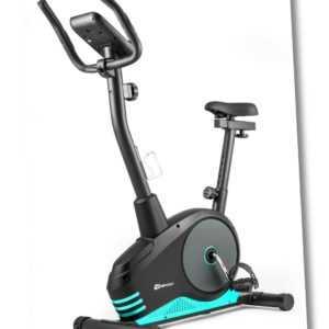 Heimtrainer Spark von Hop-Sport Ergometer Fitnessgerät Fitnessbike Türkis