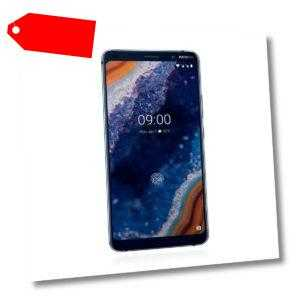Nokia 9 PureView 128GB Dual Sim Midnight Blue TOP MwSt nicht...