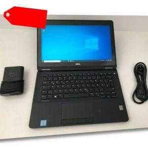 DELL Latitude E7270 Core i5-6300U 2,40GHz, 256GB SSD, FHD Touchscreen, 4G LTE