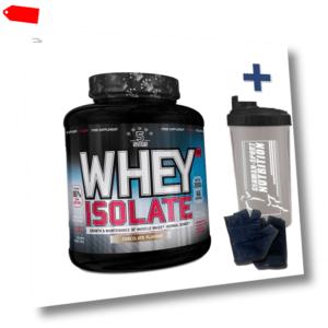 Whey Isolat CFM  Eiweißpulver 2000g Diät Protein Shake 2 Kg / 100% Iso Whey