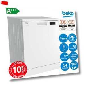 Beko A+++ Stand Geschirrspüler 60cm Geschirr Spülmaschine...
