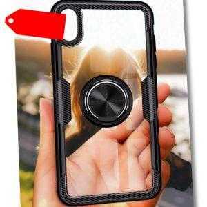 Hülle Samsung Galaxy A51 A50 A71 A70 A30S Case Klar Handy Ring Panzer Folie Glas
