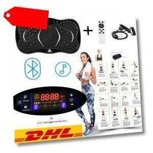 3D Vibrationsplatte Fitness Platte Trainer Ganzkörper Trainingsgerät Rutschfest