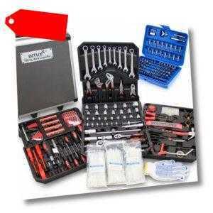 Bituxx Werkzeugkoffer 899 tlg. Bestückt Trolley Werkzeugkasten Werkzeugkiste Set