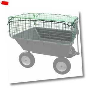 Güde Aufsatzgitter mit Netz für Gartenwagen GGW 500