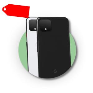 Google Pixel 4 XL ohne Simlock Dual Sim Originalverpackt Versiegelt