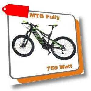 MTB Mountainbike Carbon Fully E-bike Phantom 750W Mittelmotor 48V 13,6ah Akku