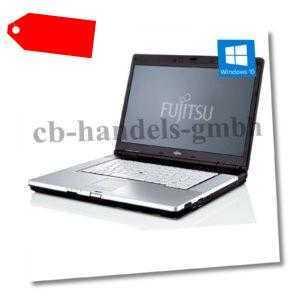 FUJITSU LIFEBOOK E780 i5 M520 2.40 GHZ 15,6 ZOLL 4GB DDR3 320GB HDD DVDRW WIN10