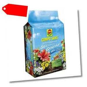 COMPO SANA Blumenerde ca. 50% weniger Gewicht 40 Liter