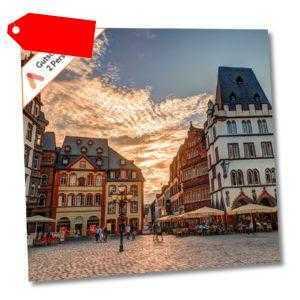 Kurzurlaub Trier zentrales Design Hotel Gutschein 3 Tage 2 Personen + Frühstück