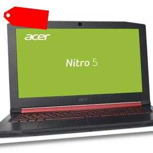 "15,6""/39,6cm Notebook Acer Nitro Intel i5 8GB RAM 1TB HDD Nvidia MX150-2GB Win10"