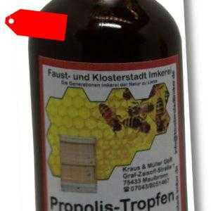 50 ml 20 % Propolis Tropfen Tinktur Lösung direkt vom Imker hergestellt