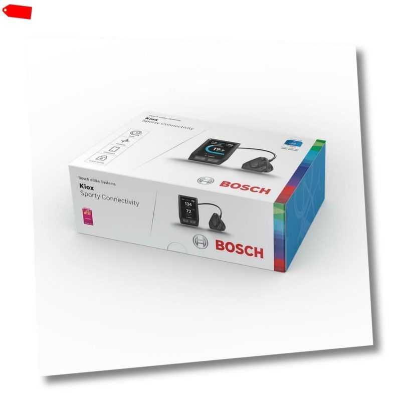 E-Bike Elektrofahrrad Bosch Nachrüst-Kit KIOX Display Halter Bedieneinheit Kabel