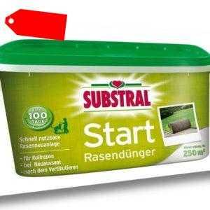 Substral Start-Rasen Dünger f. 250m² 5 kg