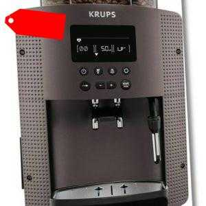 Krups EA 815P Kaffeevollautomat inkl. 20 Stück Mikrofasertücher -...