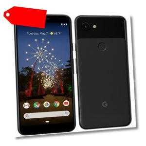 Google Pixel 3a 64GB Smartphone *NEU* vom Händler OHNE SIMLOCK - Schwarz B-Ware