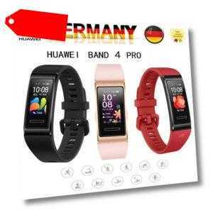 HUAWEI Band 4 PRO AMOLED Smart Watch Fitness Tracker Armband Uhr GPS Körperindex