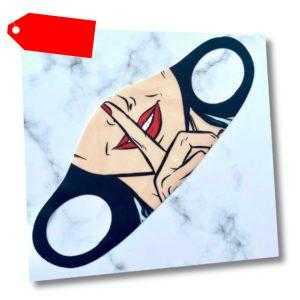 Maske Gesichtsmaske waschbar Mund Wiederverwendbar Atemschutz Design Face 2020