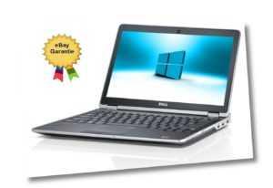 PREMIUM NOTEBOOK DELL LAPTOP   Core i5  2,50  12,5  Ghz  4GB  Win10 Pro