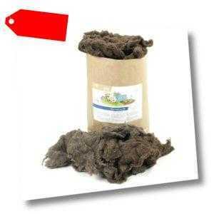 Schafwolle 10 kg Wollflocken lose im Beutel Gartenwolle Mulchwolle salzfrei