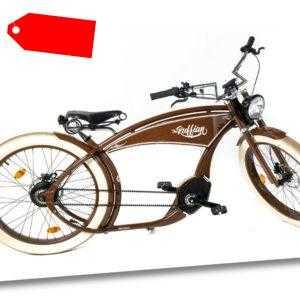 "Ruff Cycles THE RUFFIAN 26"" Pedelec E-Bike Cruiser Modell 2020 CX 500Wh braun"