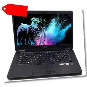 """Dell Latitude E7450 14"""" Notebook HD i5-5300U 8GB RAM 256GB SSD Win10 Pro"""
