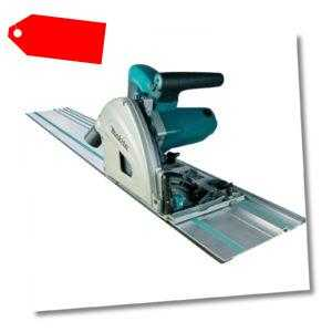 Makita Tauchsäge SP6000J1 mit Führungsschiene, Handkreissäge, blau