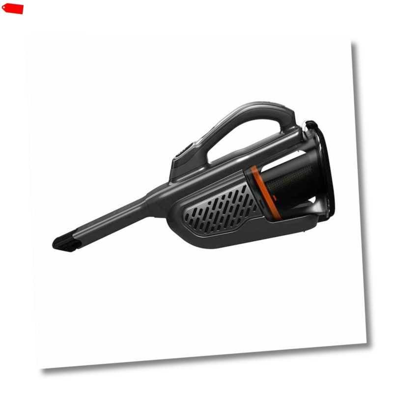 Black + Decker BHHV520BT 18V Dustbuster Akkustaubsauger  Titanium/Silber/Schwarz